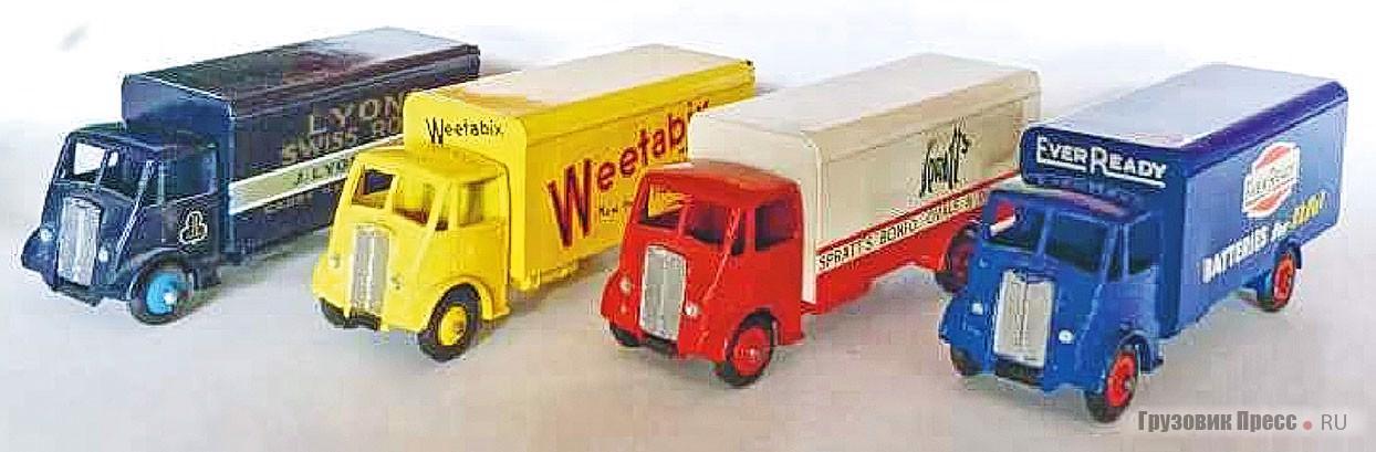 Различные грузовики Guys серии Dinky Supertoys