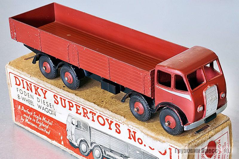 Бортовой грузовик Foden DG 6 (номер в каталоге 501)