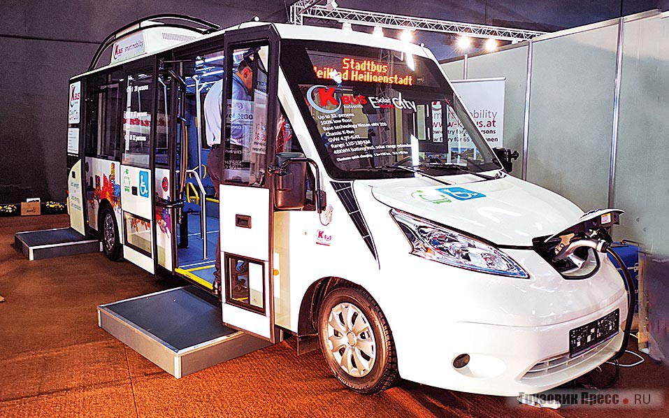 Kütsenits K-Bus Solar Electric City на шасси Nissan eNV200
