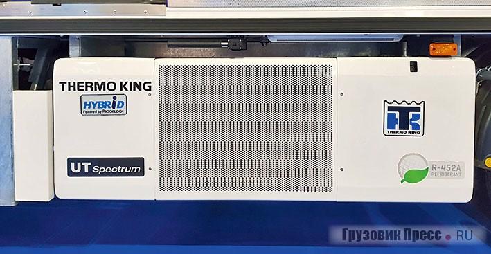 Система охлаждения SLXi компании Thermo King может переключаться с электрического на дизельный режим. А технология генератора и инвертор-привода компании Frigoblock позволяет установкам серии T как спереди кузова, так и под кузовом