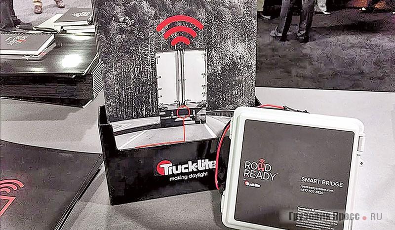 Для менеджеров пакет SmartBridge Integrator компании Truck-Lite представляет собой компактное устройство со специализированным ПО, хотя может быть закачан и в смартфон