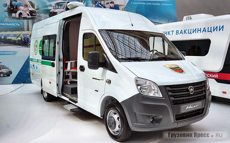Мобильный медицинский кабинет на базе фургона «ГАЗель NEXT 4.6» (С46R92)