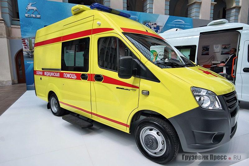 АСМП класса С с телекоммуникационным комплексом на базе цельнометаллического фургона «ГАЗель NEXT» (A32R23)