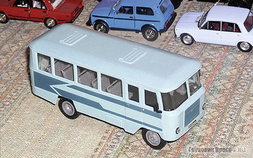 «Кубань»: первая в России масштабная модель автобуса