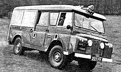 Land Rover Carmichael Redwing FT-6