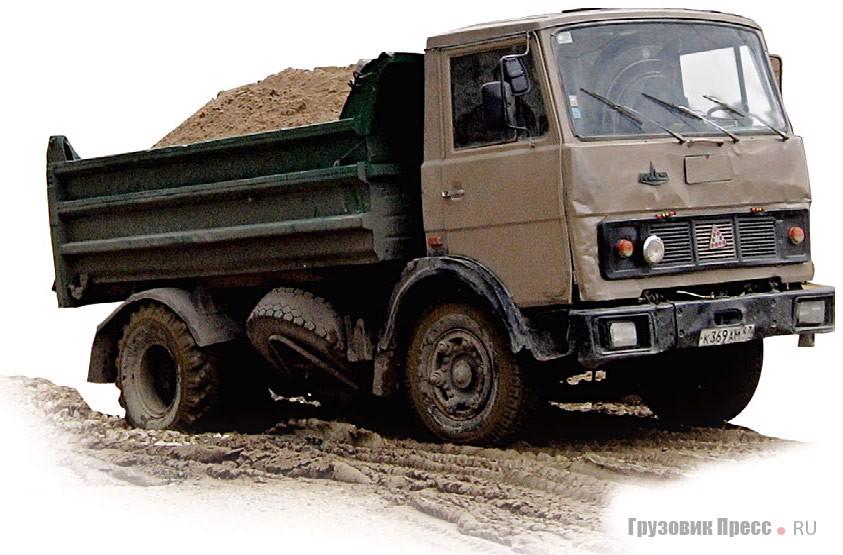 Использование МАЗ-5551 г/п 8,5 т оправданно только на коротком плече