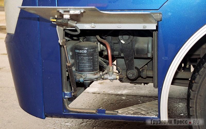 Осушитель воздуха тормозной системы