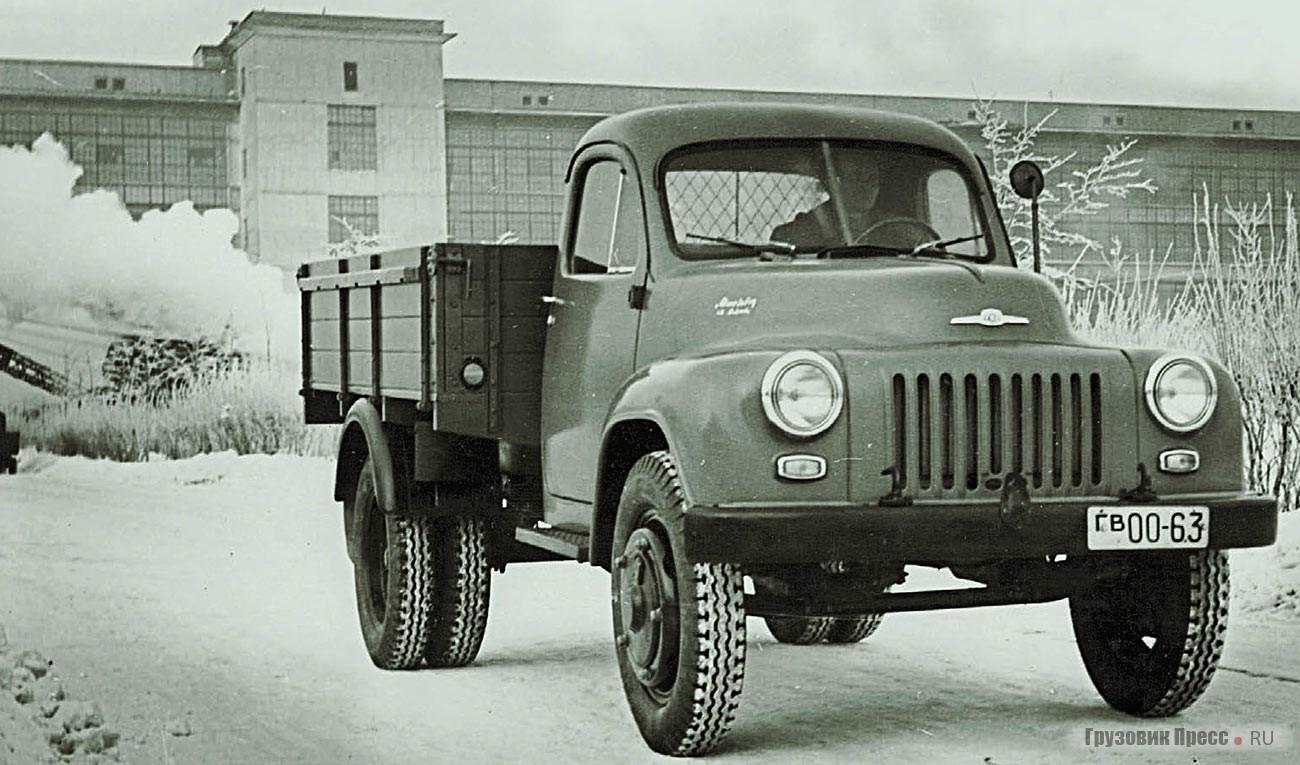 ГАЗ-56. Конец 1956 г.