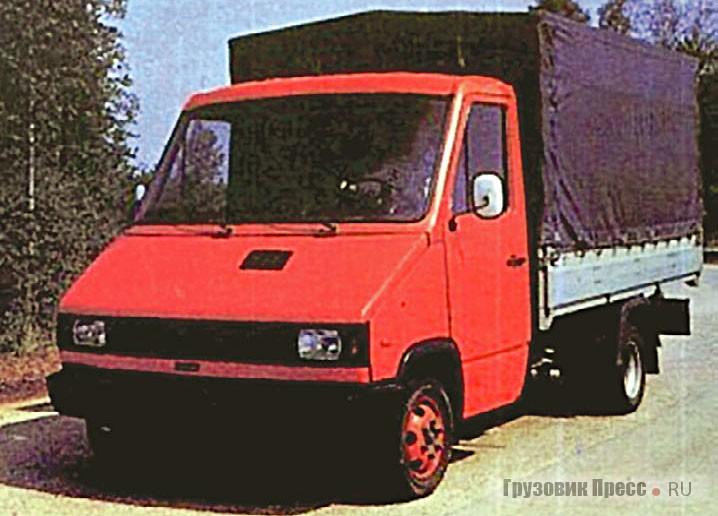 Бортовой опытный КиАЗ-3305