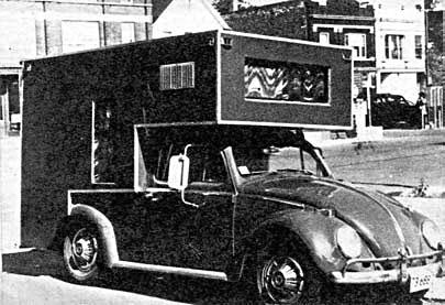 VW Kafer Motorhome – «дом на колесах»
