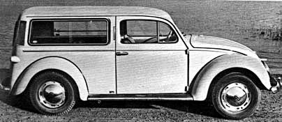 VW Kafer Tourer – настоящий универсал
