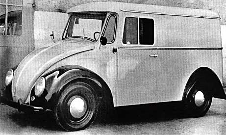 VW Kafer Fourgon Voll