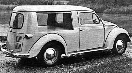 VW Kafer Variant – еще один вариант универсала