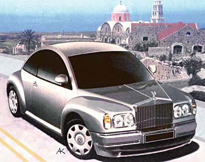 New Beetle Rolls-Royce