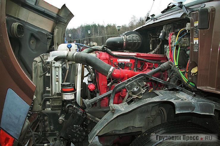 Volvo и International оснащены силовыми агрегатами Cummins серии ISX