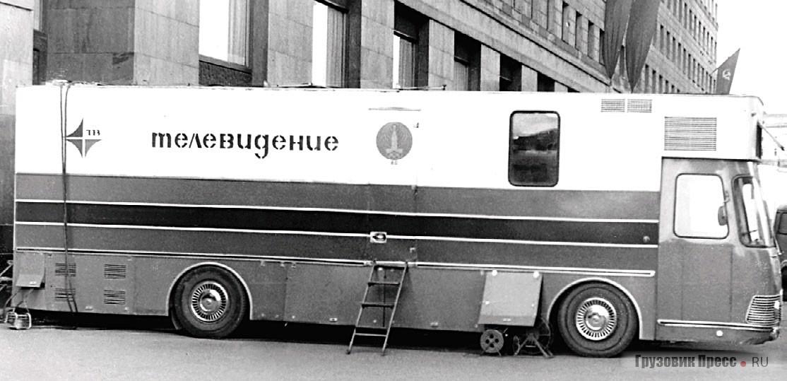 Специально к Олимпиаде разработали модернизированную ПТС-ЦТ «Магнолия-80» ЛиАЗ-5932