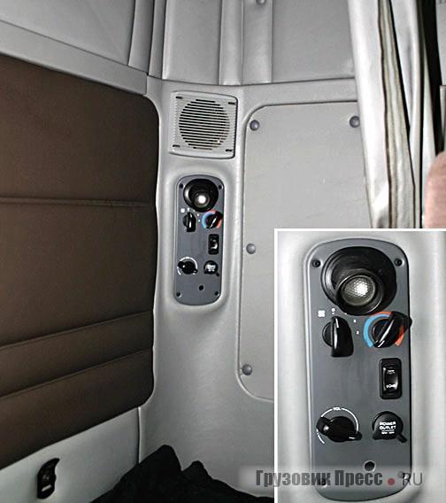 фредлайнер фото внутри кабины