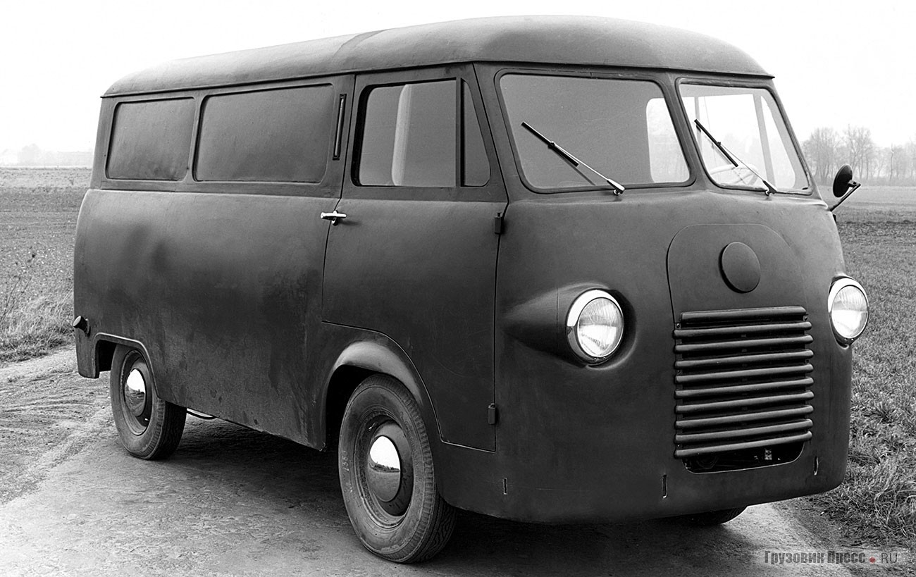 Ford FK1000, прототип, 1952 г.