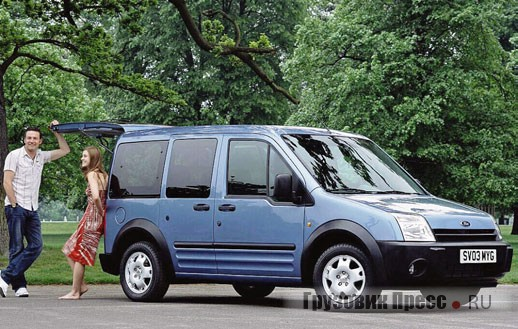 Ford Transit Connect/ Tourneo Connect, 2002 г.