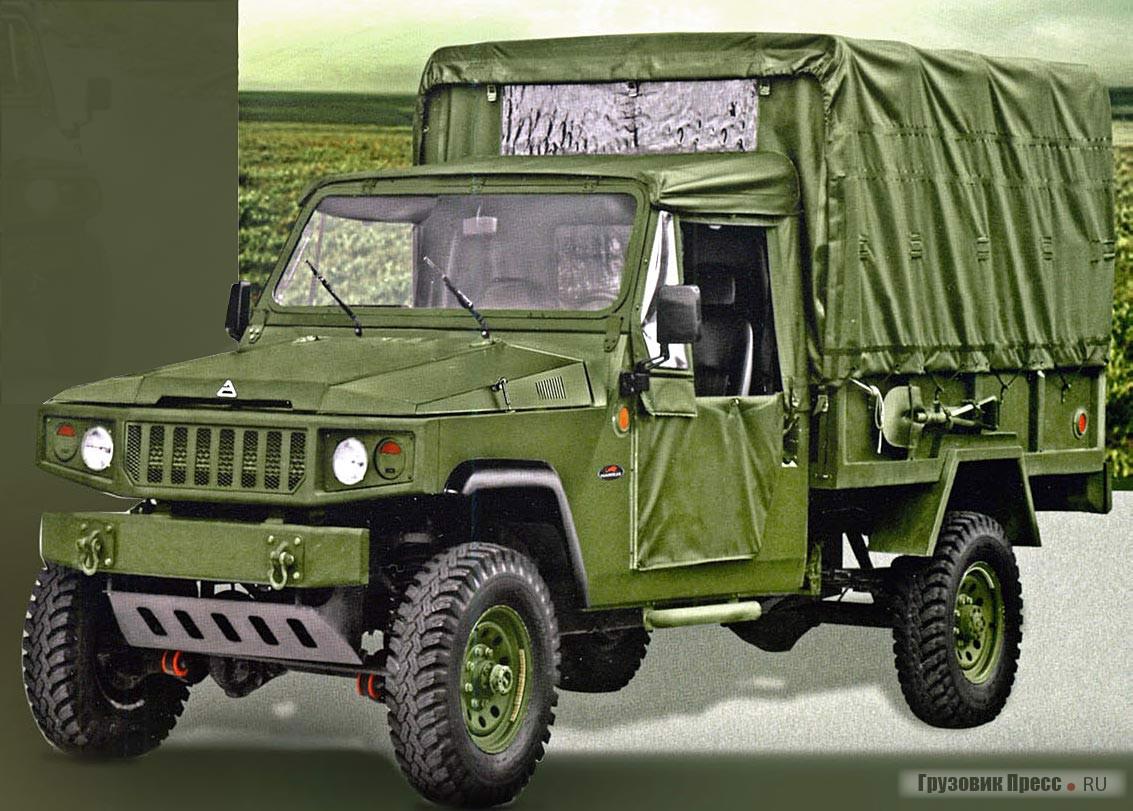 Marruа Cargo рассчитан на перевозку отделения солдат