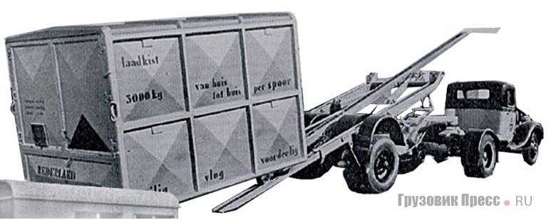 1936. Контейнеровоз
