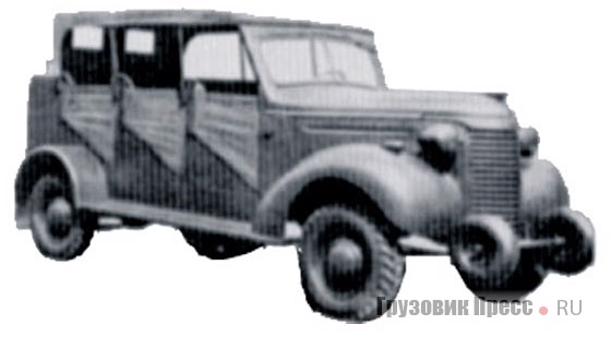 1940. Chevrolet KD/DAF (body Type 3) 4x4