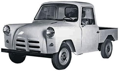 1960. DAF Handywagon