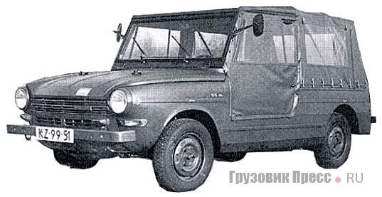 1972. DAF 55YA
