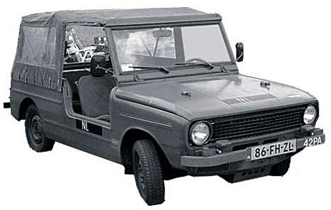 1974. DAF 66YA