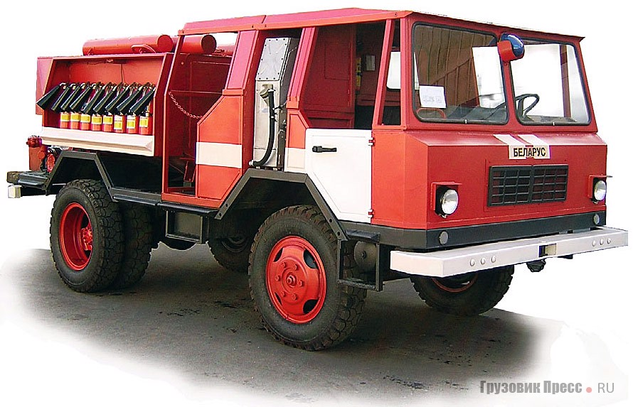 Машина пожарная «Беларус МП-403М»