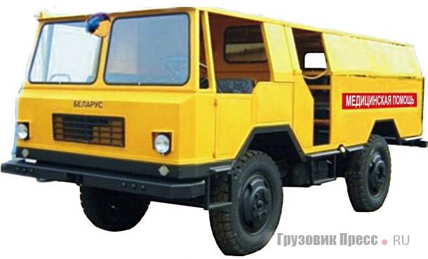 Машина медицинской помощи ММП-393