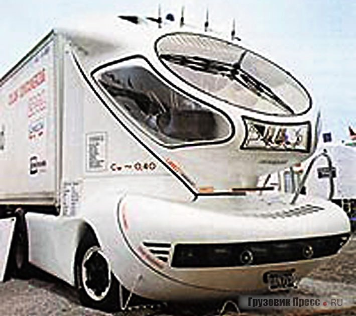 Первый из аэрогрузовиков Колани – Colani Truck 2001 (1978 г.)