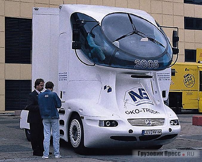 Первый вариант грузовика Vision 2005 (третье поколение), Франкфурт, 1995 г.
