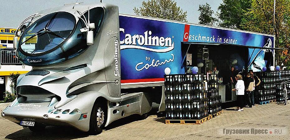 Таков Aero 3000 сейчас в качестве шоутрака компании Carolinen, 2003 г.