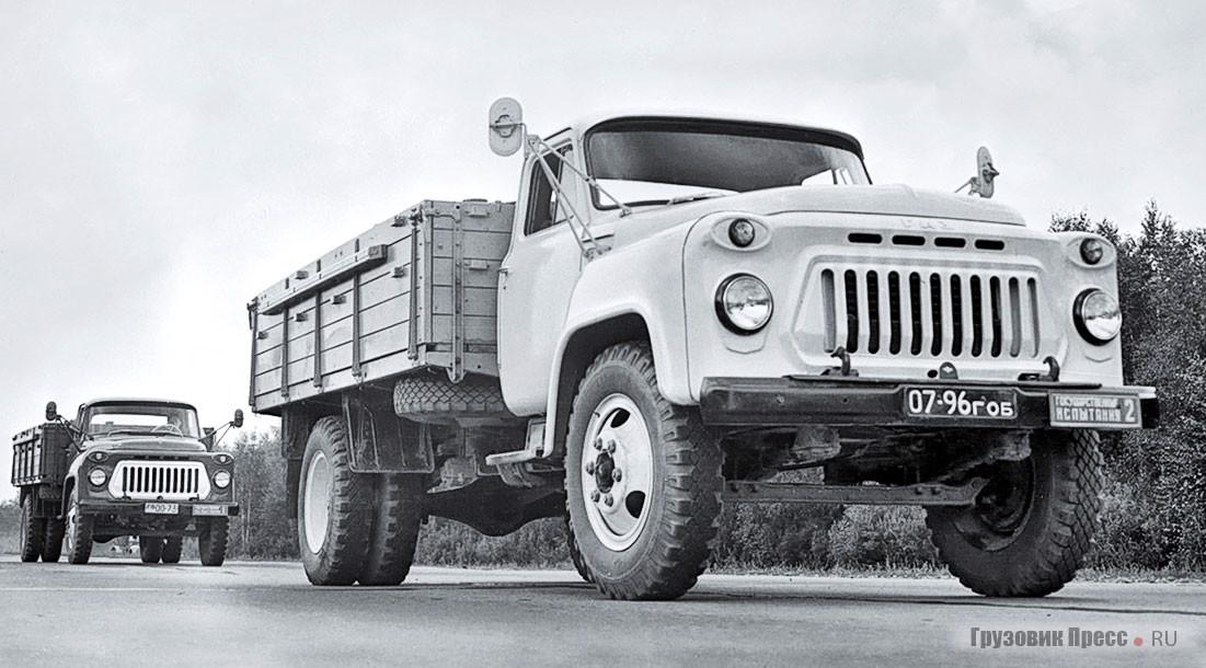 ГАЗ-53А на государственных испытаниях