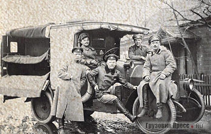 Véhicule sanitaire Fiat 15-Ter.  1915 g.