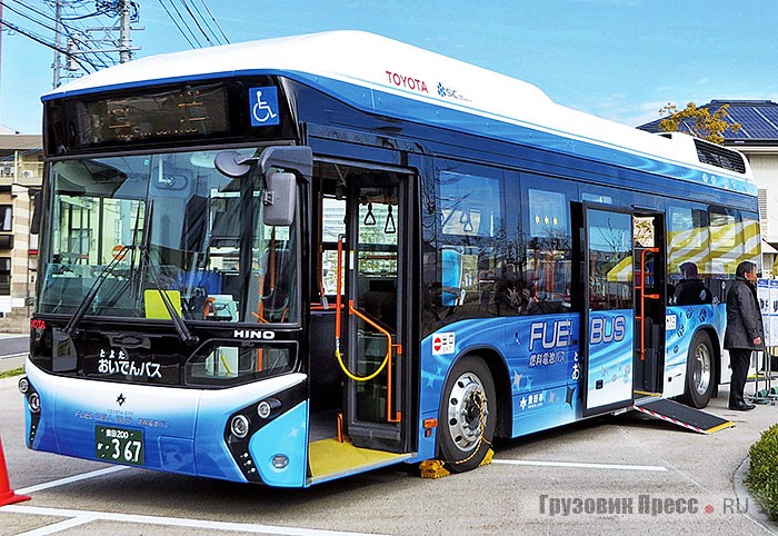 Опытный Toyota Fuel Cell Bus