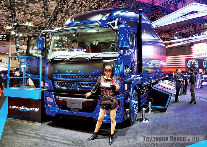 Mitsubishi Fuso Super Great V FU64VUZ
