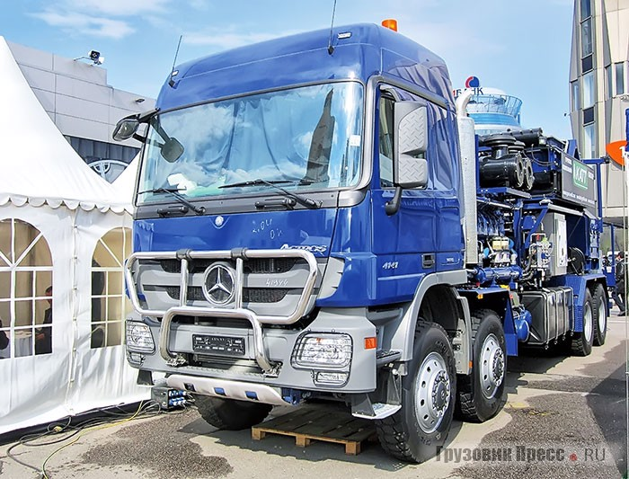 Goes FC-2251 на шасси Mercedes-Benz Actros 4141