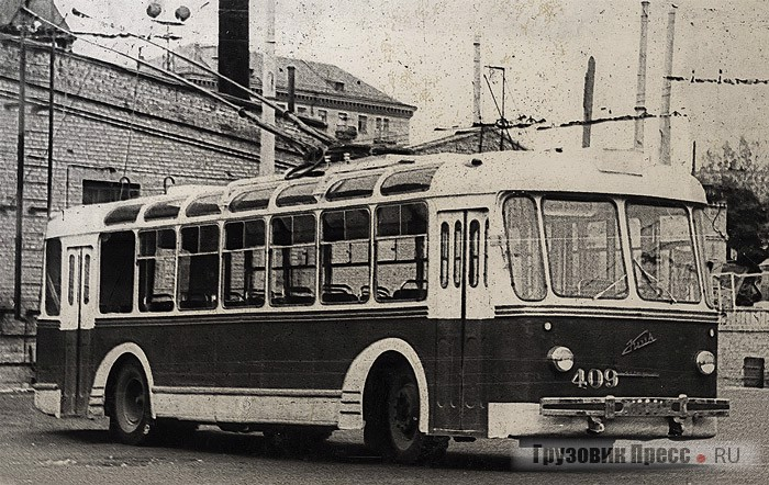 Троллейбусы ТБЭ-С после первичной модернизации на КЗЭТ 3f8acdc1e8f94