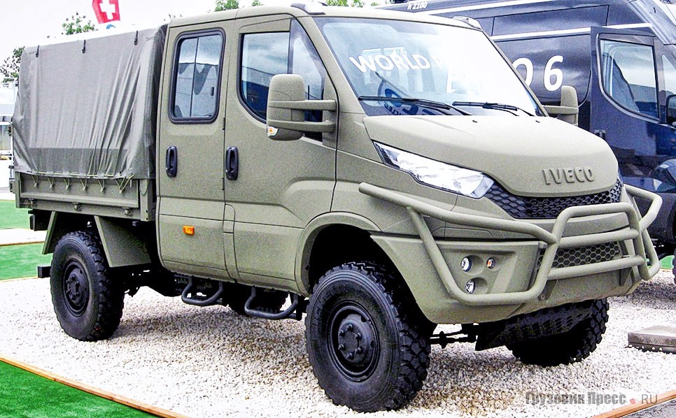 IVECO Daily M70.20 WM (4x4)