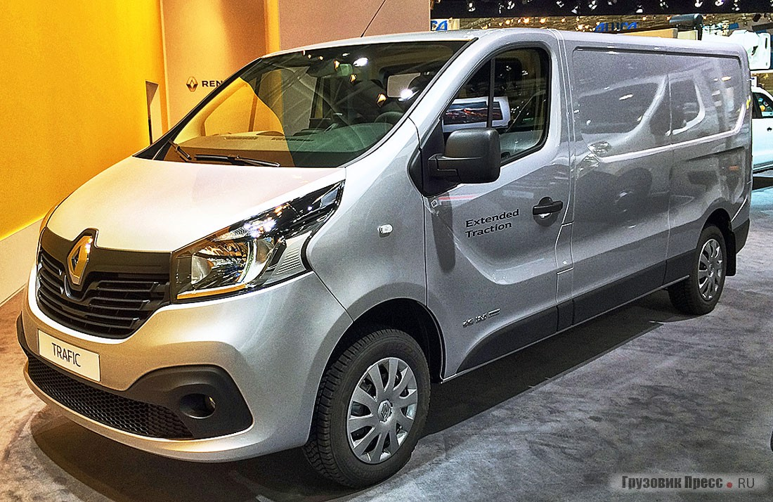 Renault Trafic X-track dCI 125 L2H1 2,9t
