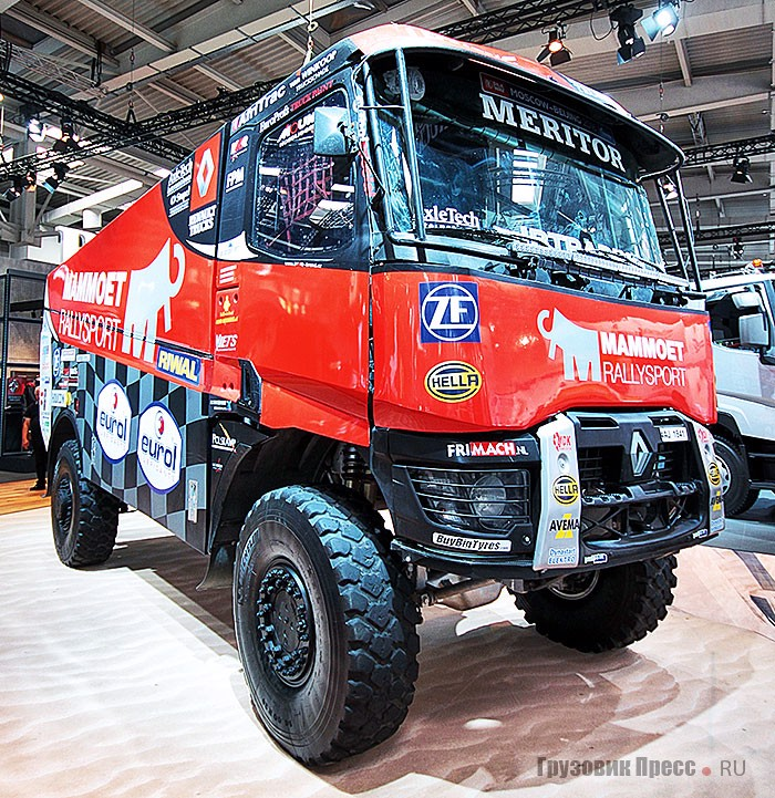 Renault K520 4x4 команды MKR Technology