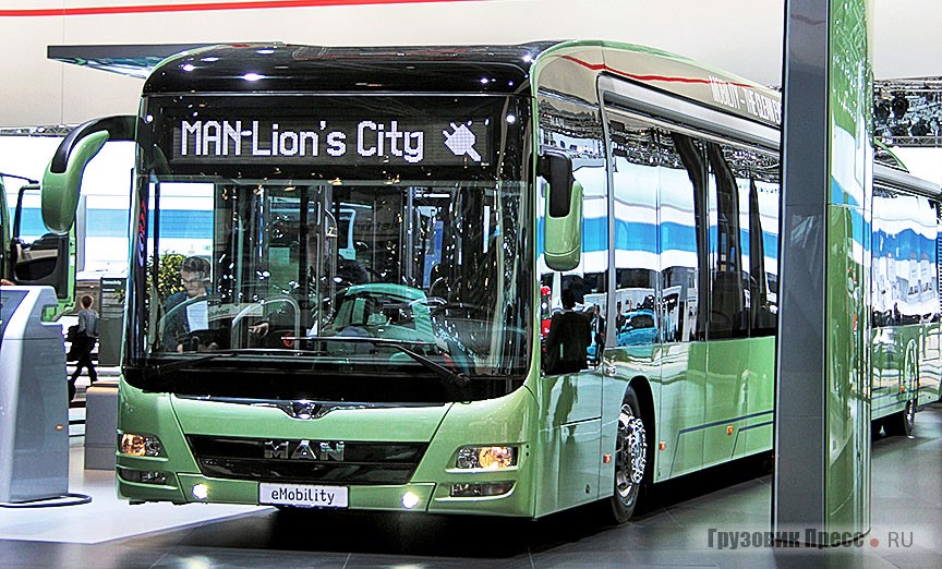 MAN Lion's City eMobility