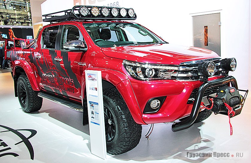 Arctic Trucks AT35 Toyota HiLux
