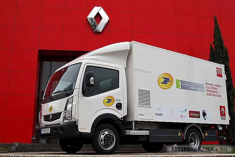 Renault Trucks Maxity Electric
