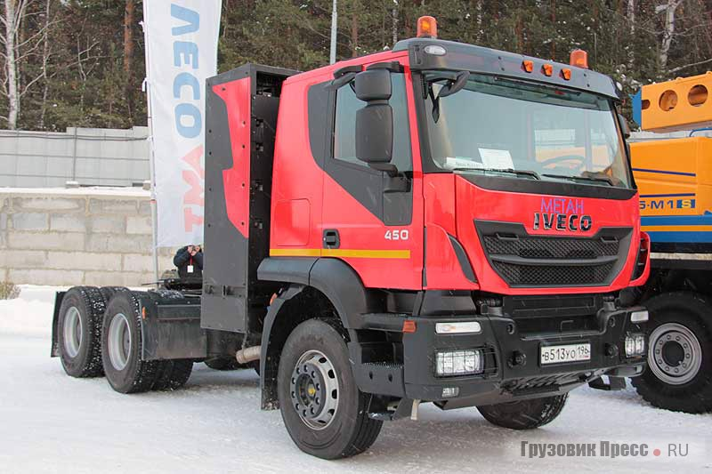 IVECO-AMT 633911 (6х4) CNG