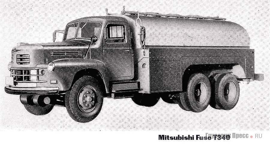 В далёком 1959 году все тяжёлые японские грузовики имели капотную компоновку