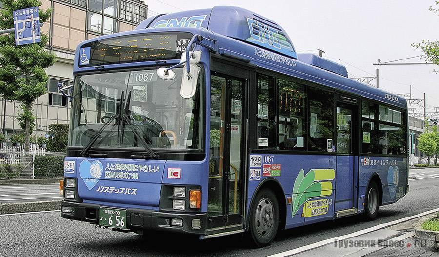Новое поколение городских Isuzu Erga QQG-LV234L3 оснащают газовыми двигателями