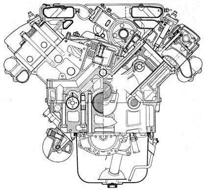 Двигатель WD-815